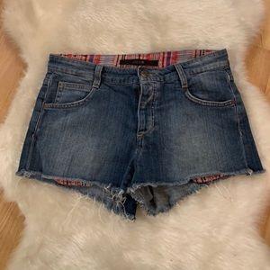 Joe's Jeans Women's Button Fly Cut Off Shorts 27